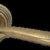 Дверные ручки Rucetti RAP-CLASSIC-L 6 OMB (Старая античная бронза)