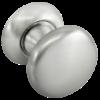 """Поворотные круглые ручки Morelli """"FOSTER"""" MHR-1 SN (Белый никель)"""
