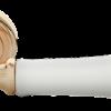 """Дверные ручки Morelli """"UMBERTO"""" MH-41-CLASSIC PG/W (Золото/белый)"""