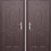 Дверь мет. E40M  Металл