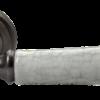 """Дверные ручки Morelli """"UMBERTO"""" MH-41-CLASSIC OMS/GR (Старое античное серебро/серый)"""