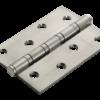 Петля стальная Rucetti универсальная RS 100X70X2.5-4BB SN (Белый никель)